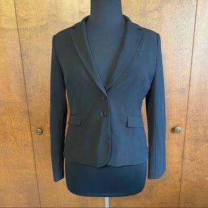 NEW YORK & CO Black petite plus size suit blazer